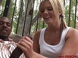 Young hottie loves big black cock sex
