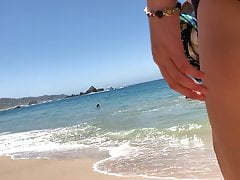 Ass Walking At The Beach . Quickie