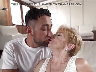 grandma is hot a by guy A fucked young horny