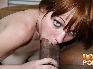 Small Tits Beau Marie Sucking a Big Cock
