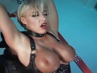 Big tits blonde amp brunette rough anal...