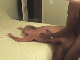 Her big saggy tits sway she amp hubby...