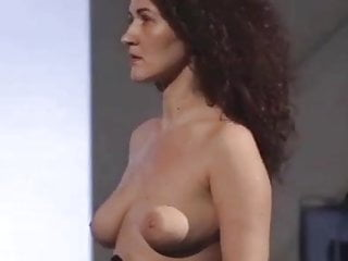 Eva Pyrnokoki's nipples are getting erect for the audience