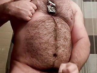 Bear jerk off...