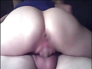 Mature woman gets wet while riding husband 039...