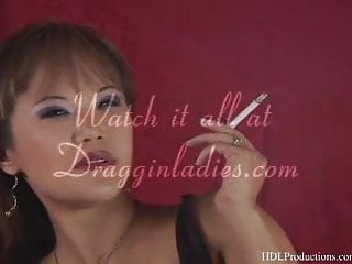 Mia Smiles - Smoking Fetish at Dragginladies