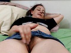 Hot wife masturbating