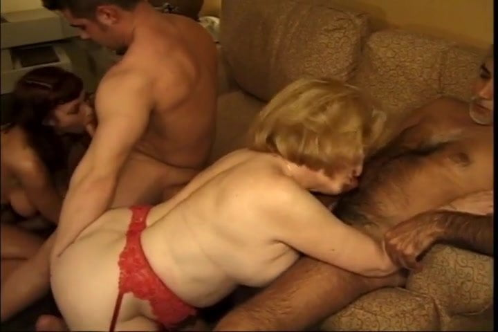 Wife Gets Gangbang Facial
