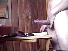 Young cock is still so hard after cum