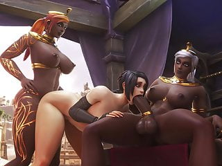 Casira Ciera Shaw Lixena in a hot Threesome
