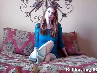 About to get ballbusting...