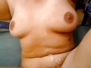 Big tits mature amp face...