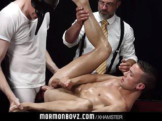 MormonBoyz - Smooth athletic bottom used in secret sex cerem