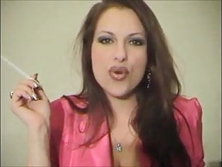 Sexiest milf smoker ever chistine divine so fine...