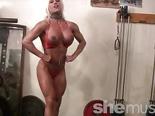 Muscular Porn Star Ashlee Chambers