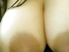 Juicy lactating tits