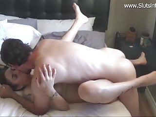 Slut babe riding on my dick then fucked...