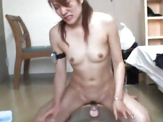 Fucks her toy hard...