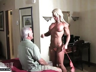 Muscular Dominatrix BDSM