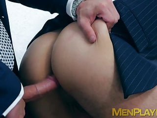 Office coworkers ricky blue and robbie rojo anal...
