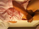 Masturbation at a love hotel