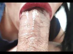 ASMR, HIGHLY DETAILED PULSATING DAILY BLOWJOB SESSION