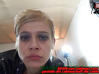 Geile blonde Hausfrau Pov