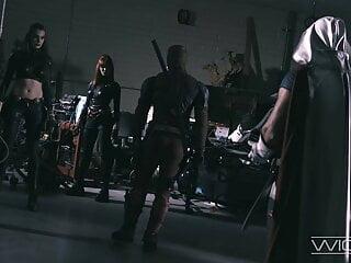 Black Widow Foursome With Deadpool, Yelena & The Taskmaster