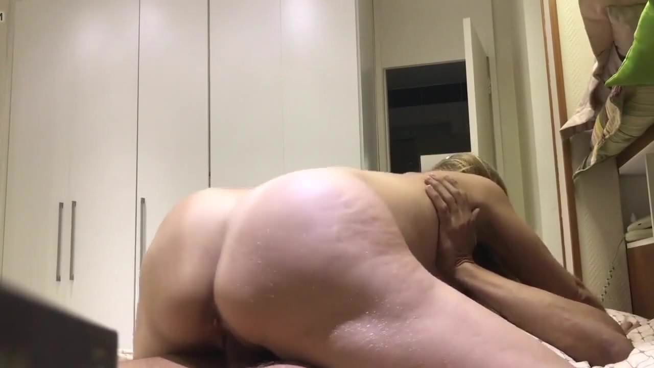 Huge White Cock Creampie