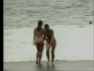 Nude on the seaside