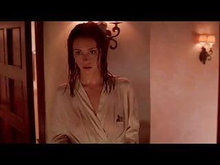 Hewitt wet bathrobe nipples...