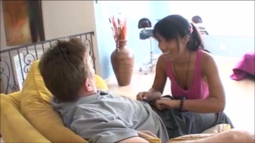 Lesbian Massage Seduce Blonde