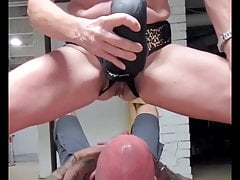 Miss A uses the Mrhankeystoys Firehose for a little payback.