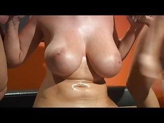 Blowjob Pornstar Hard video: Gianna demands guys to slap her tits hard