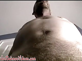 Amateur thug jerking off until he orgasms