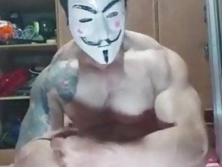 Asian Pinoy Tattooed Masturbation