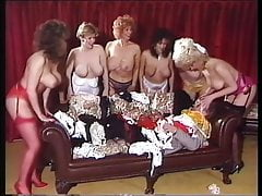 Bushy booby babe, dance compilation from Strand movies