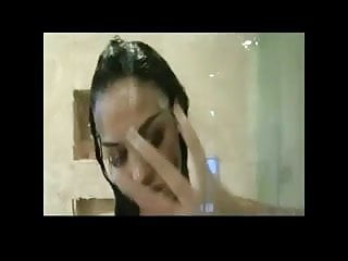 Angelina So Hot In Shower BVR