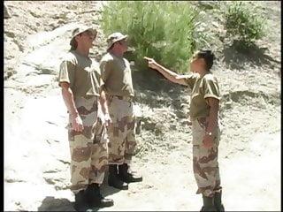 Big Cock Big Ass Threesome video: Drill Sergeant Loni