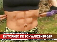 Wilma G abs fitness