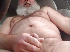 Daddy Is Back And Needs To Empty His Nut In His Car