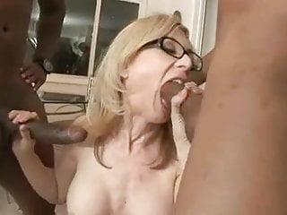 Nina hartley with two black cock