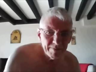 Grampa nudist...