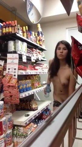 Girl Strips Masturbates Public