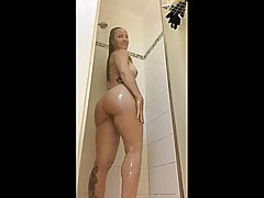 Son Spies On Mom In Shower