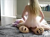 Strap on teddy bear