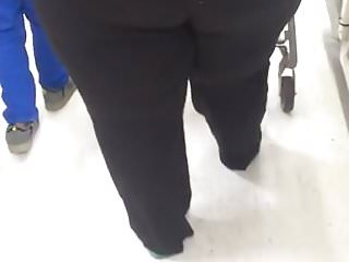 Booty bbw in store...