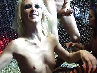 Adrenalized chics get bonked sex...