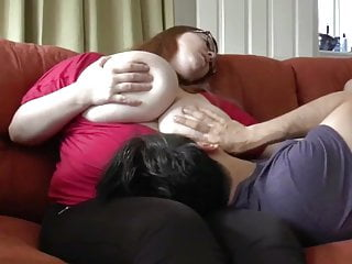 Delightful BBW Wife Invited Her Neighbor To Drink Some Tea