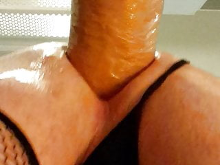 Chubby cock deep inside me
